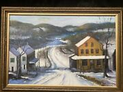 1950s North American / Canadian Impressionist Landscape Painting -tom Thomson