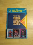 Wwf 1990 Classic Collectors Album Complete Set W/promo Cards Factory Sealed