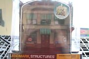 Woodland Scenics O Scale Dugan's Paint Store Built-up Building W/ Led Lighting