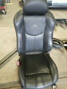 09-15 Infiniti G37 Coupe Sport Front Left Driver Seat Assembly Black 873501nv3a