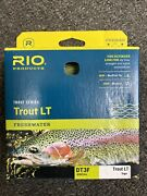 Rio Trout Lt Line Double Taper 3wt Dt3f Nib Fast Free Shipping