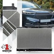 Aluminum Core Cooling Radiator Oe Style Assembly For 16-21 Honda Hrv At Dpi13539