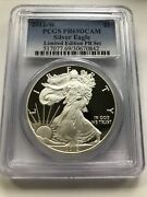 2012 W American Silver Eagle Pcgs Pr69 Dcam Limited Edition Proof Set