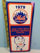 1979 New York Mets Baseball Spring Training Roster And Schedule