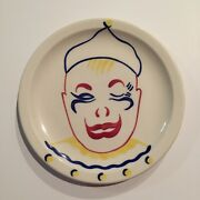 1951 Union Pacific Railroad 8 Childs Plate Circus Pattern Syracuse China ,clown