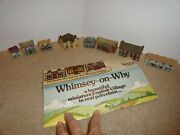 Wade Of England Miniature English Village Whimsey On Why Lot Or 8 Buildings