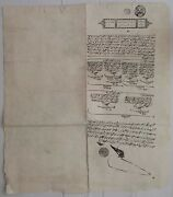 Egypt 1842 2p Stamp Paper Used 1847