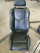 09-15 Infiniti G37 Coupe Front Right Passenger Seat Black 873001nx9a