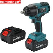 550nm 18v Battery Powered Rechargeable Brushless Impact Wrench Vehicle Repair