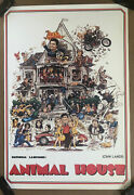 Animal House Vintage Poster Print Movie Classic Comedy College Dorm Room Frat