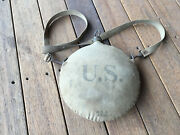 Vintage 1909 U.s. Cavalry Canteen Forest Service