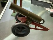 Vintage Early Tin Cannonworks Great Spring Action
