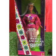 New Unopened Rare Vintage 1994 Made Barbie Doll Native American