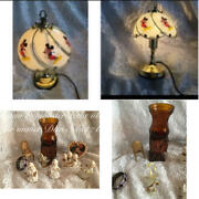 Antique Disney Candle Stand Lamp Light Angel Angel