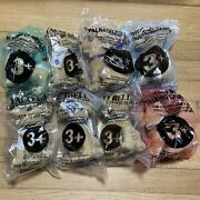 New Lot Of 8 Different Sealed Vintage Taco Bell Chihuahua Dog Plush Toys