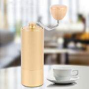 30g Bean Manual Coffee Grinder Kit Cylindrical Adjustable With Burr Mill Brush