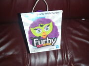 New In Box - Furby Party Rockers - Purple Furby - By Hasbro - Free Shipping