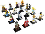 New Factory Sealed Lego 1 Set Of 16 Minifigures Series 4 8804