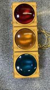 Traffic Control Technologies Signal Light Red Amber Green Tct Stop Caution Go