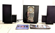 Vintage 1991 Bang And Olufsen Beosystem 2500 Cd Player Speakers Working Condition