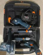 Black And Decker 5 Piece Tool Set, Charger, Case