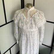 Vintage Edwardian Style Tiered 1900and039s Dress H322