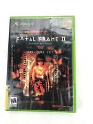 Xbox Fatal Frame 2 Crimson Butterfly Director's Cuttested