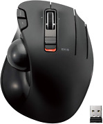 Elecom 2.4ghz Wireless Thumb-operated Trackball Mouse 6-button Function With Sm