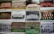 Lot Of 12 Philadelphia Team Photos Eagles, Flyers, Phillies And 76ers And Rockets