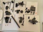 New Geneva Pattern 8mm Precision Watchmaker Lathe New With Tons Of Accessories