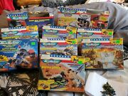 Vintage Galoob Micro Machines Jets Cars Boats Tanks Military Army Lot In Box