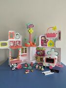 Littlest Pet Shop Lot Rescue Tails Center Playset With Pets And Accessories Lps