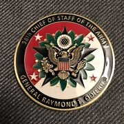 General Raymond Odierno 38th Army Chief Of Staff V3 Challenge Coin