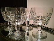 Discontinued Extremely Rare Antique Baccarat Marignane Water Glasses