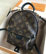 Louis Vuitton Palm Springs Ruck Sack Vintage Fashion Goods From Japanese K15179