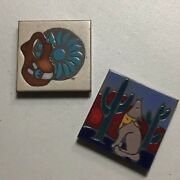 Hand Painted-southwestern Coasters/tiles