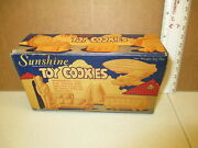 Sunshine Toy Cookie 1930s Vintage Food Candy Box Zeppelin Soldier Car Airplane