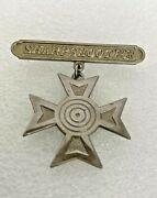 Ww1 Antique Sharpshooter Medal 1885 - 1921 Army Marines