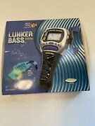 Lunker Bass Electronic Fishing Game Handheld Radica 1997 , Complete In Box
