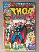Thor Annual 6 1977 1st App Of Achernonians And Brahl Nm Guardians Gala