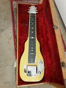 1953 Fender Lap Steel Guitar Telecaster Original Pots And Pickup Signed By Mary