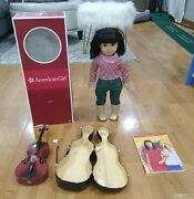 """Ivy American Girl Doll 18"""" W/ Cello Guc"""