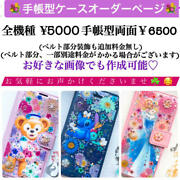 Notebook Type Case Order Page Disney Princess Duffy Friends
