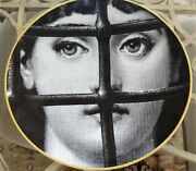 Rosenthal Fornasetti Julia 22 Collectors Plate Julia Behind The Bar