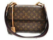 Louis Vuitton Used Goods Cluny Mm M43236 Monogram Brown Coated Canvas No.4946