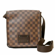 Louis Vuitton Bag Damier Brooklyn Pm N51210 Brown Women And039s Previously No.7392