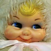 Rushton Vintage Rubber Face Doll Snow Baby 25.5