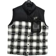 Used 7 Moncler Fragment Hiroshi Fujiwara 20aw Daxy Quilted Down Checkedflannel
