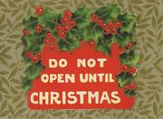 Antique Holly Berries Berry Xmas Christmas Sticker Art Color Aceo Size Old Print