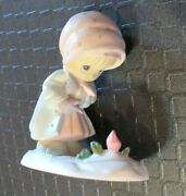 Precious Moments February Miniature Monthly Figurine With Box Girl Mini 573310